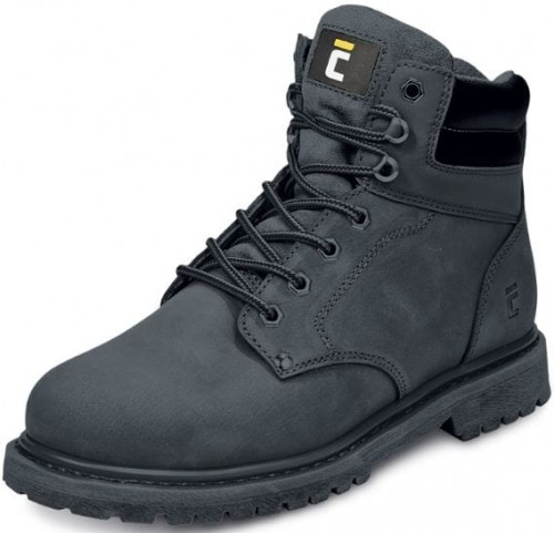 buty męskie trzewiki czarne